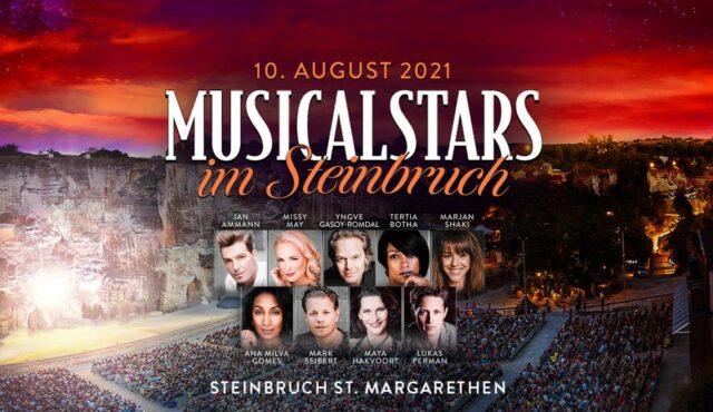 Musicalstars im Steinbruch in St. Margarethen 10.08.2021