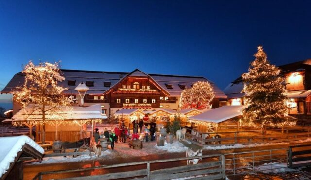 Weihnachtsmarkt auf Gut Aiderbichl 12.12.2021